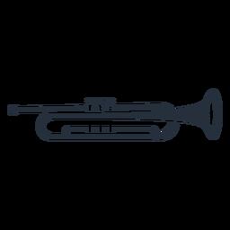 Trompeta de la música