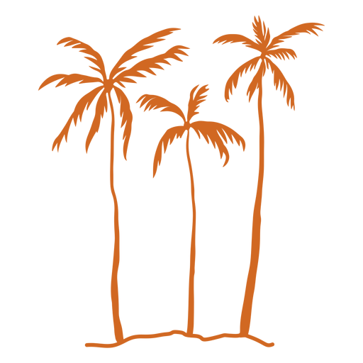 Palm tree silhouette palm tree Transparent PNG