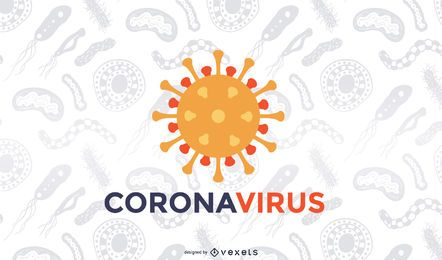 Coronavirus Covid-19 Hintergrund