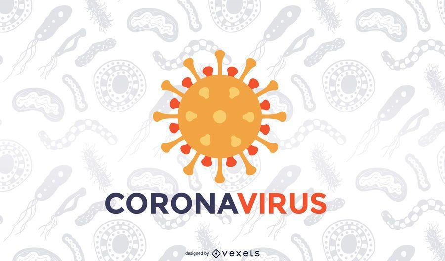 Coronavirus Covid-19 background