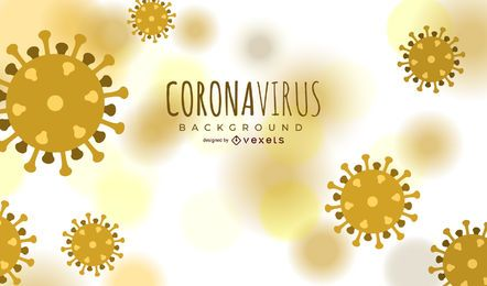 Coronavirus cell backround design