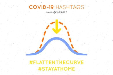 Covid-19 flatten the curve template