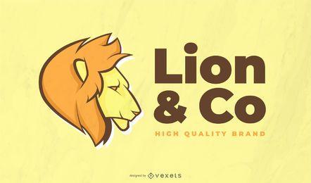 Lion Logo Vorlage