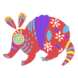 Aardvark mexicano plana