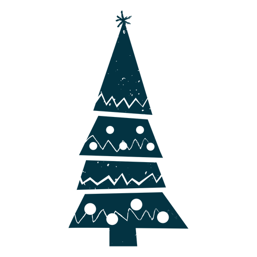 Abstract christmas tree Transparent PNG