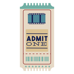 Awesome cinema ticket