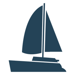 Awesome sailboat vector