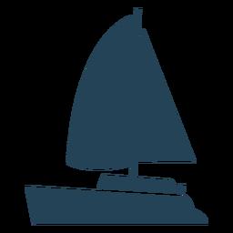 Impresionante vector de velero