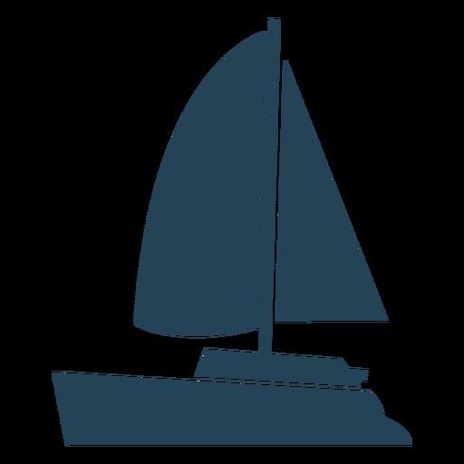 Vetor de veleiro impressionante