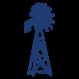 Impresionante vector de molino de viento