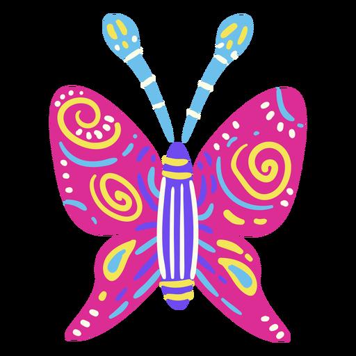 Mariposa plana mexicana