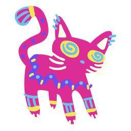 Cat cute mexican