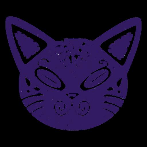 Gato lindo silueta mexicana Transparent PNG