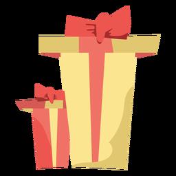 Elemento de cajas navideñas