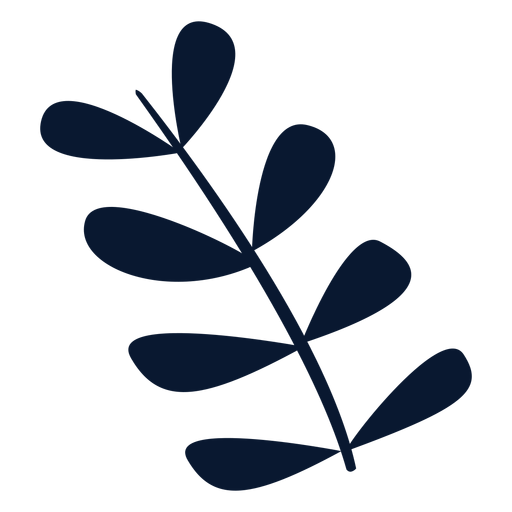 Christmas leaves element Transparent PNG