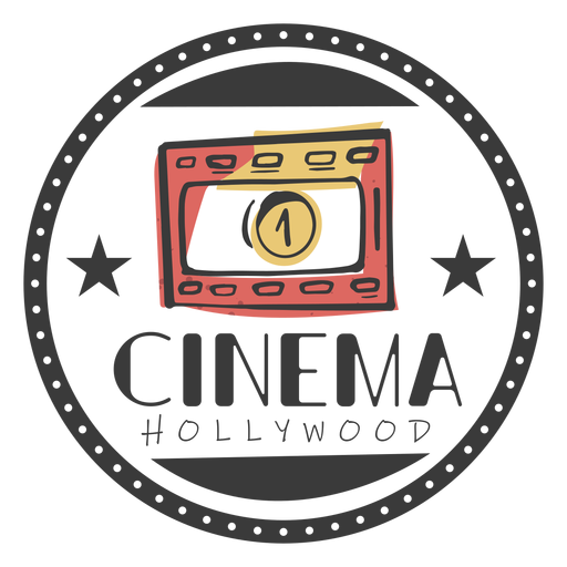 Cine hollywood impresionante Transparent PNG