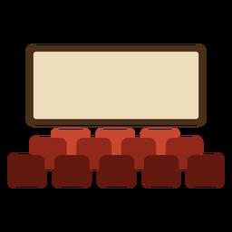 Cinema seats cool