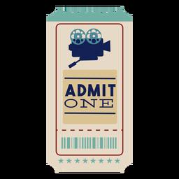 Cinema ticket awesome