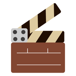 Clapperboard action nice