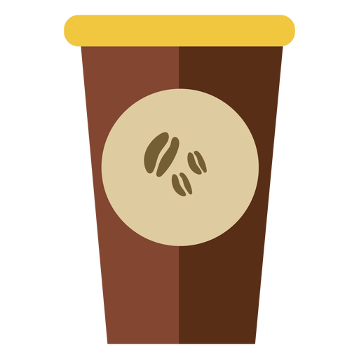 Coffee in cup cute Transparent PNG