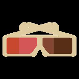 3d Glasses Stroke Transparent Png Svg Vector File