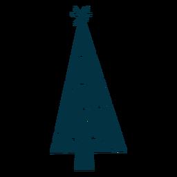 Árvore de Natal abstrata legal
