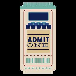 Cool cinema ticket
