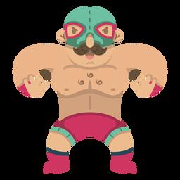 Genial luchador mexicano