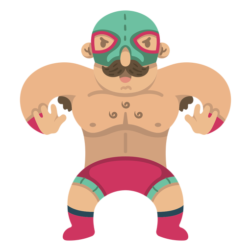 Cool mexican fighter
