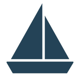 Cool sailboat vector
