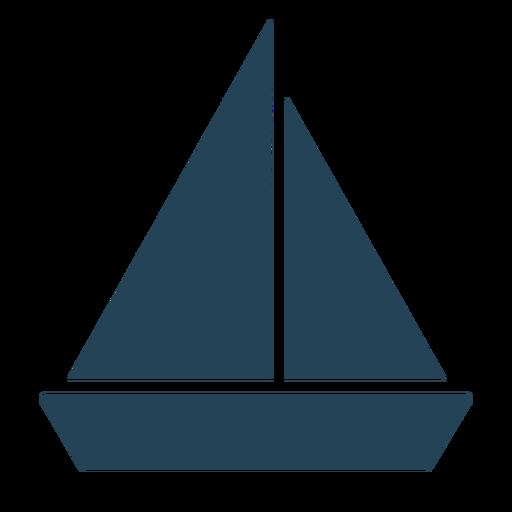 Cool sailboat vector