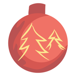 Bolas de Natal fofo