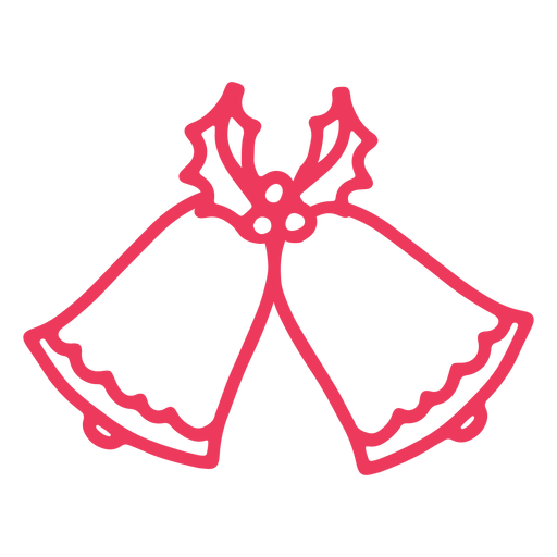 Campanas lindas navidad Transparent PNG
