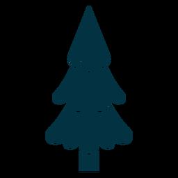 Resumo de árvore de Natal bonito