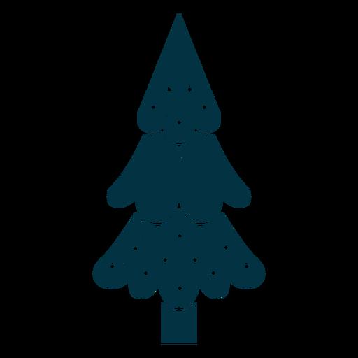 Cute christmas tree abstract