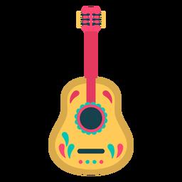 Guitarra plana fofa