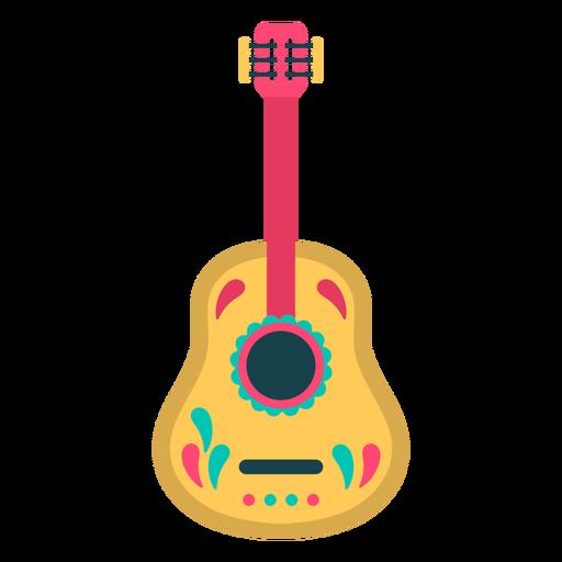 Cute flat guitar