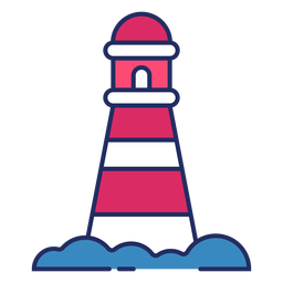Cute lighthouse flat