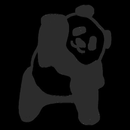 Vector lindo panda