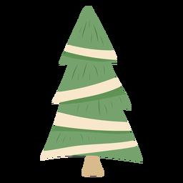 Cute pine tree