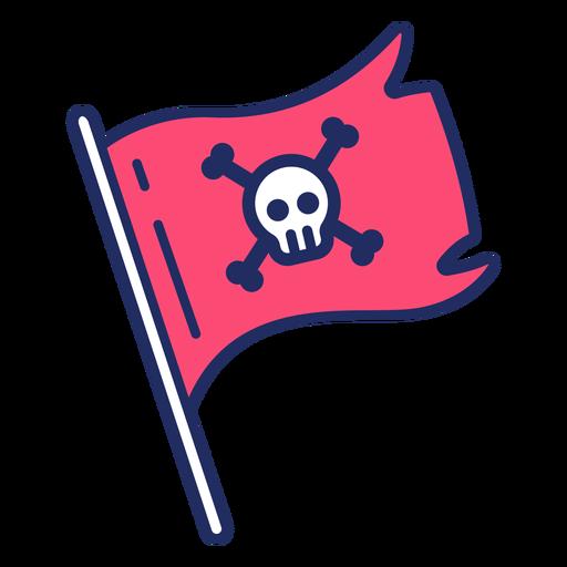 Cute pirate flag