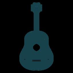 Linda guitarra de trazo