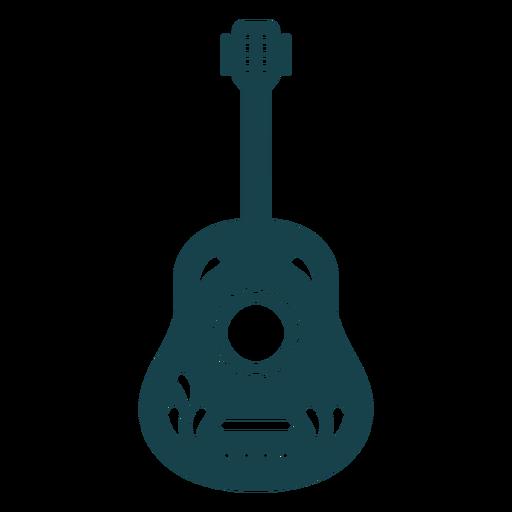 Cute stroke guitar
