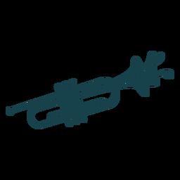 Cute stroke trumpet