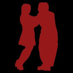 Casal dançando a dupla