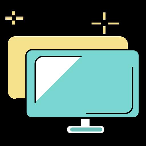 Filmación en computadora de escritorio