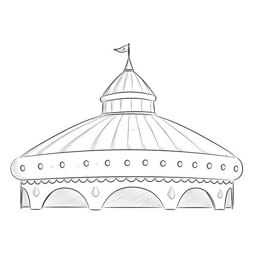 Desenho Tenda De Circo Baixar Png Svg Transparente
