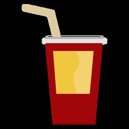 Copa de bebida cine