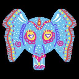 Escultura mexicana de elefante