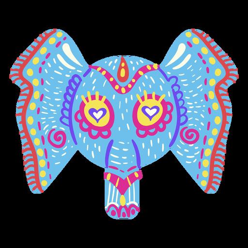 Elephant mexican sculpture Transparent PNG